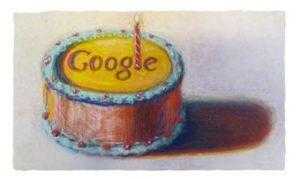 Google feiert 12. Geburtstag